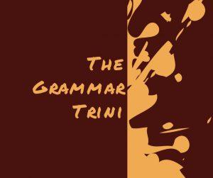 The Grammar Trini Funky Logo