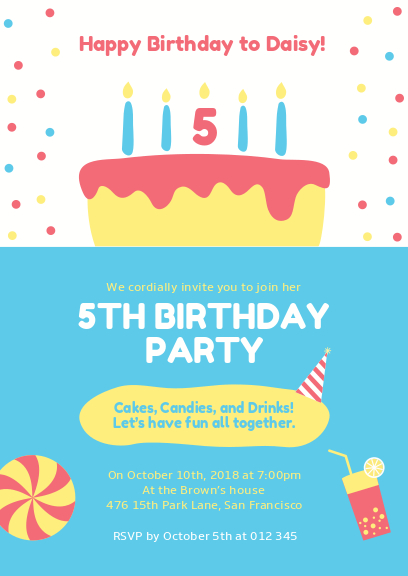 blue and white kid birthday party