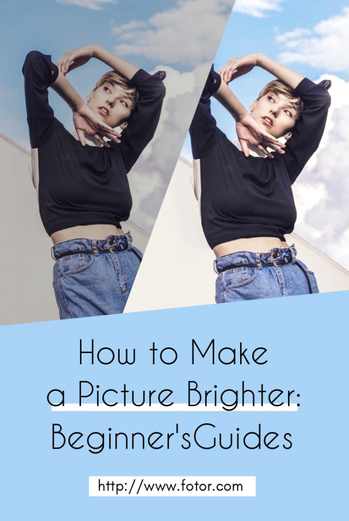 how to make a picture brighter: beginners' guides