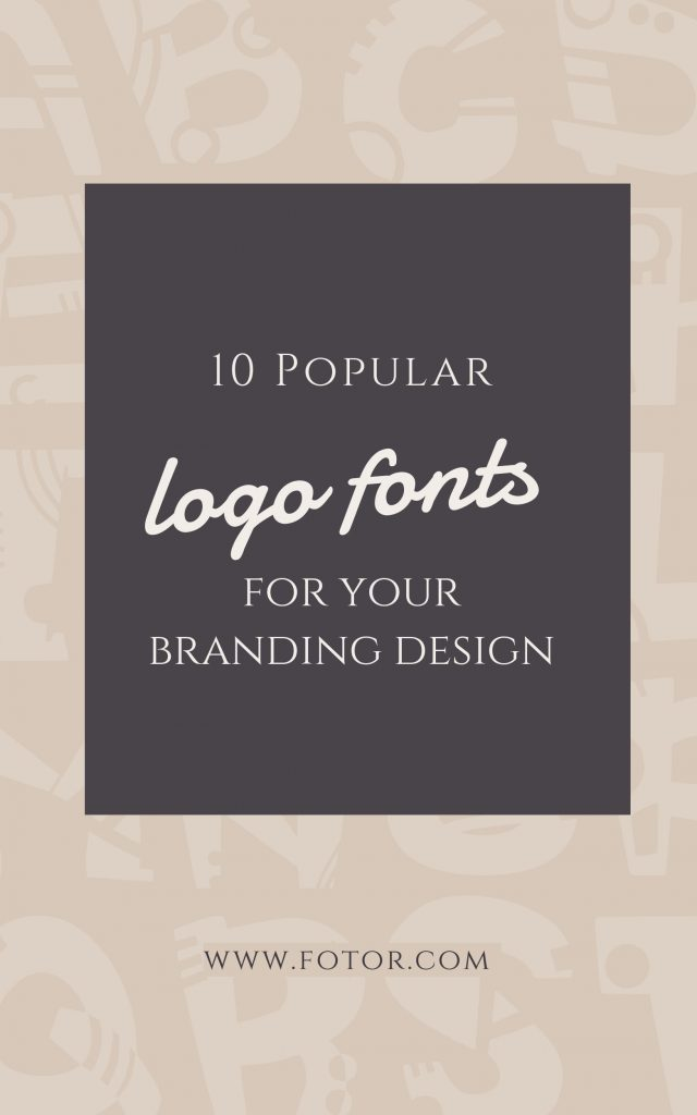 pinterest logo fonts