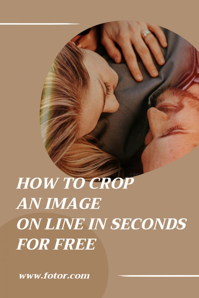 how to crop an image online