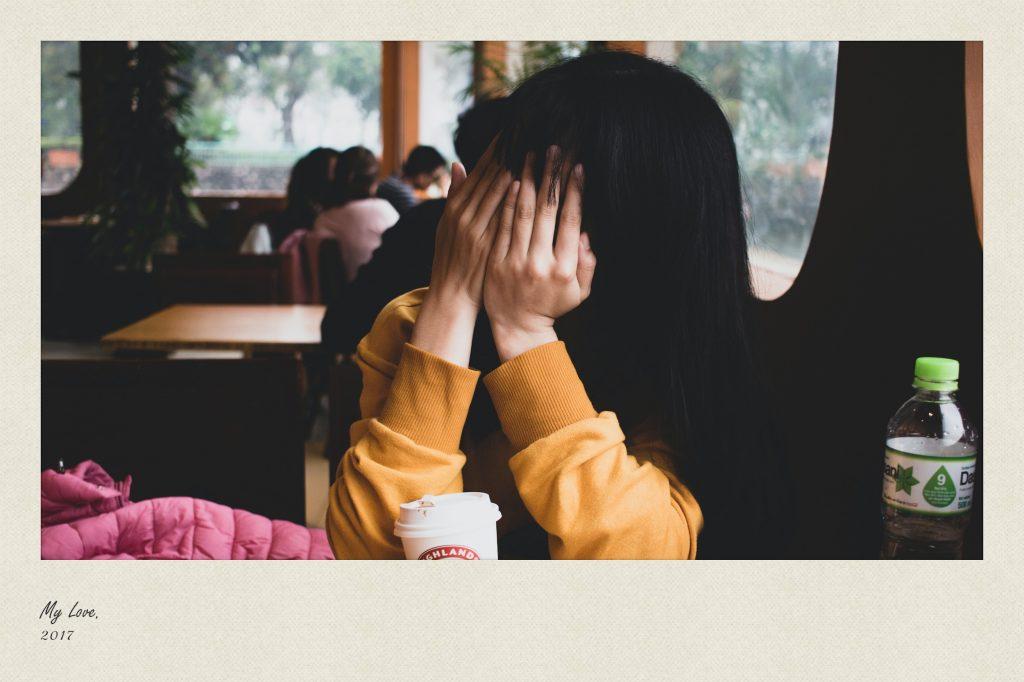 hide your face polaroid