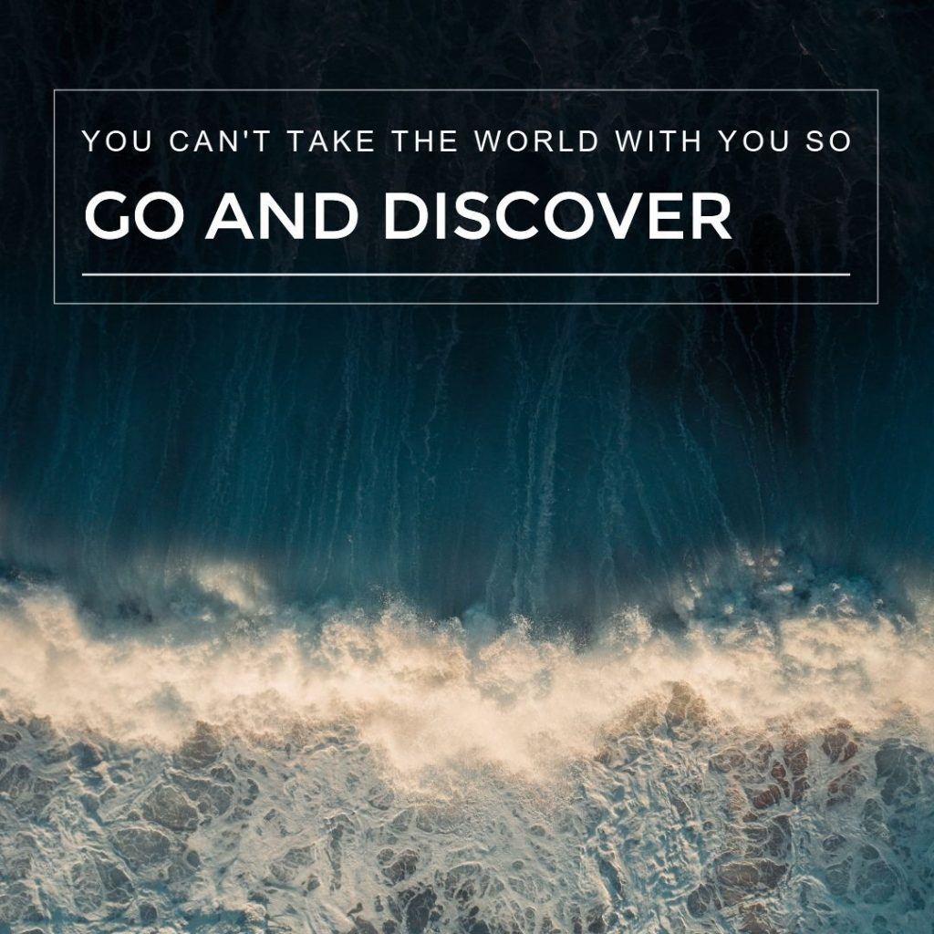 go and discover