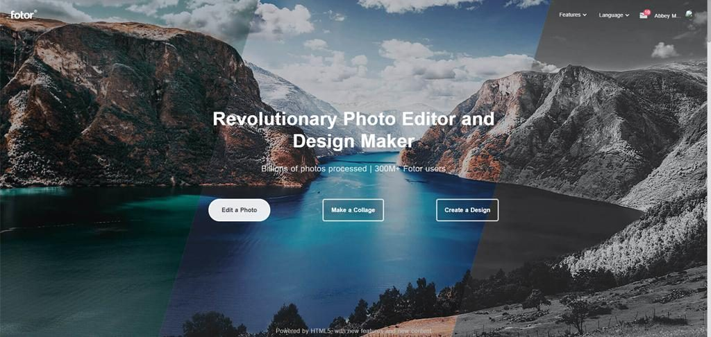 Fotor無料の写真編集サイト