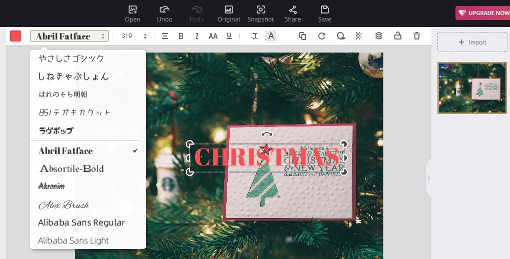Introduce Christmas topics