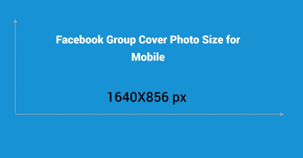 Facebook group cover photo size for mobile