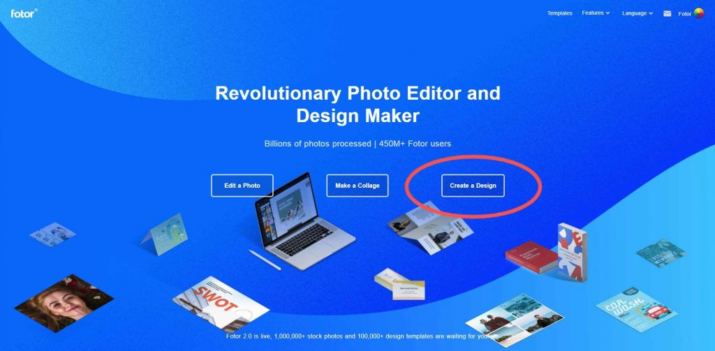 Fotor website