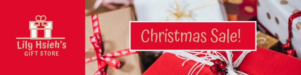 Fotor Christmas Sale Etsy Banner Template