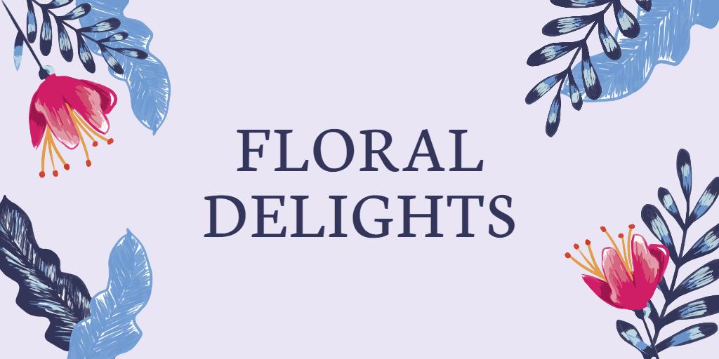 Fotor floral twitter header template
