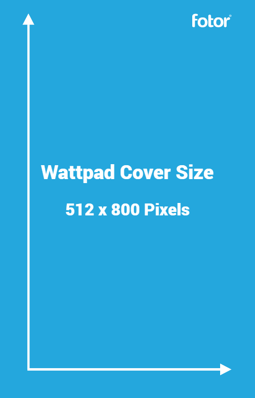 Wattpad cover size