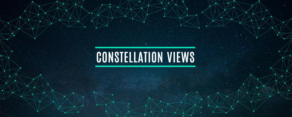 Fotor black constellation twitch banner template