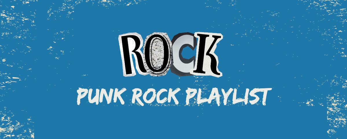 Fotor blue punk rock playlist twitch banner template