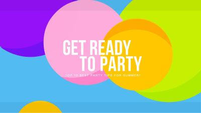Party Tips - YouTube Banner Maker – Create YouTube Channel Art ...