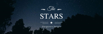 twitter header maker  Starry Night - Twitter Header Maker - Create Twitter Header Online ...