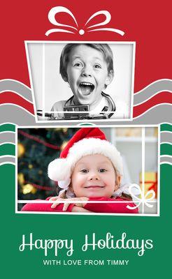 Cartão Festivo com Presentes