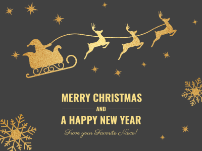 Merry Christmas and Happy New Year - Fotor Photo Cards - Free ...