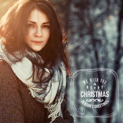Merry Christmas Cool Overlay