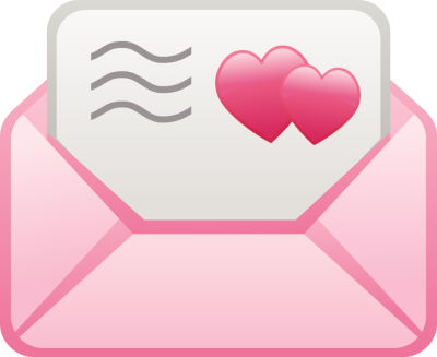 Pink Love Letter - Free Clip Arts Online | Fotor Photo Editor