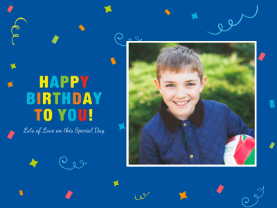 Special Birthday Fotor Photo Cards Free Online Photo Card – Online Photo Birthday Cards