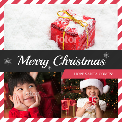 Merry Christmas - Instagram Post – Design Instagram Post Online ...