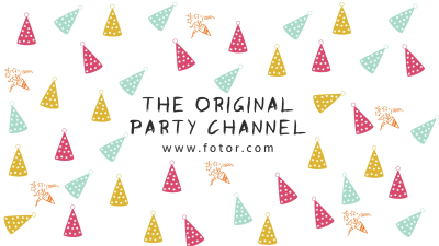 Party Channel - YouTube Banner Maker – Create YouTube Channel Art ...