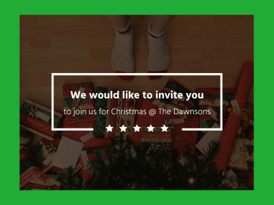 Xmas invitation fotor photo cards free online photo card maker why fotors xmas invitation photo card has everything you need m4hsunfo