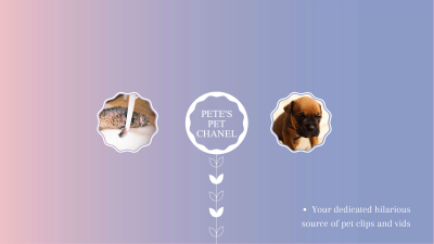 Pet's Channel - YouTube Banner Maker – Create YouTube Channel Art ...