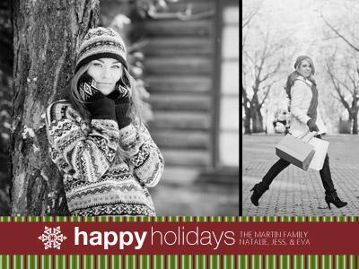 Lines Happy Holidays