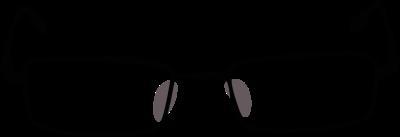 Black Frame Glasses Clipart : Thin Black Frame Glasses - Free Clip Arts Online Fotor ...