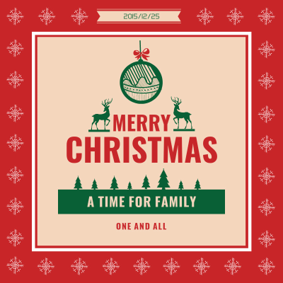 Christmas Cheer - Instagram Post – Design Instagram Post Online ...