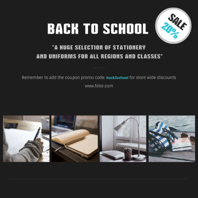Reach The Next Level With Fotors Back To School Ad Instagram Post
