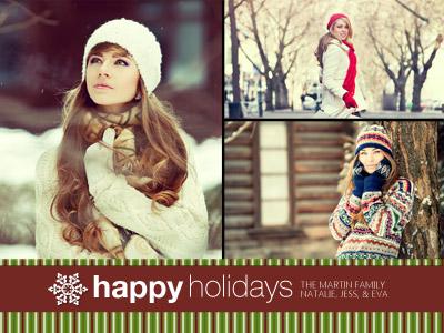 Boas Festas em Cores Natalinas