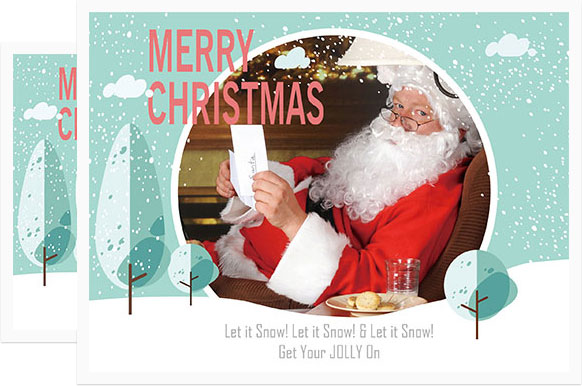 Awesome Why Fotoru0027s Christmas Photo Card Has Everything You Need Pertaining To Online Greeting Card Template