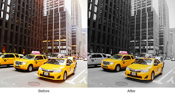 Allowing You To Apply Color Gray Scale And Black White Photos The Splash Effect Feature Allows Highlight Focus On Most