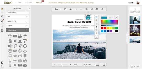 Graphic Design Photo Design Online Fotor Photo Editor