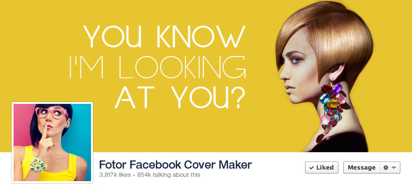 ... Maker - Facebook Cover Photo Design for free | Fotor Photo Editor: www.fotor.com/features/facebook.html