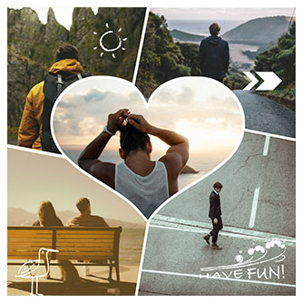 Funky Collage Maker | Fotor – Make Funky Photo Collages Online for ...