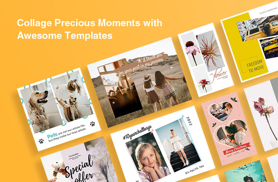 Make Christmas Collages to Spread All Delightful Memories